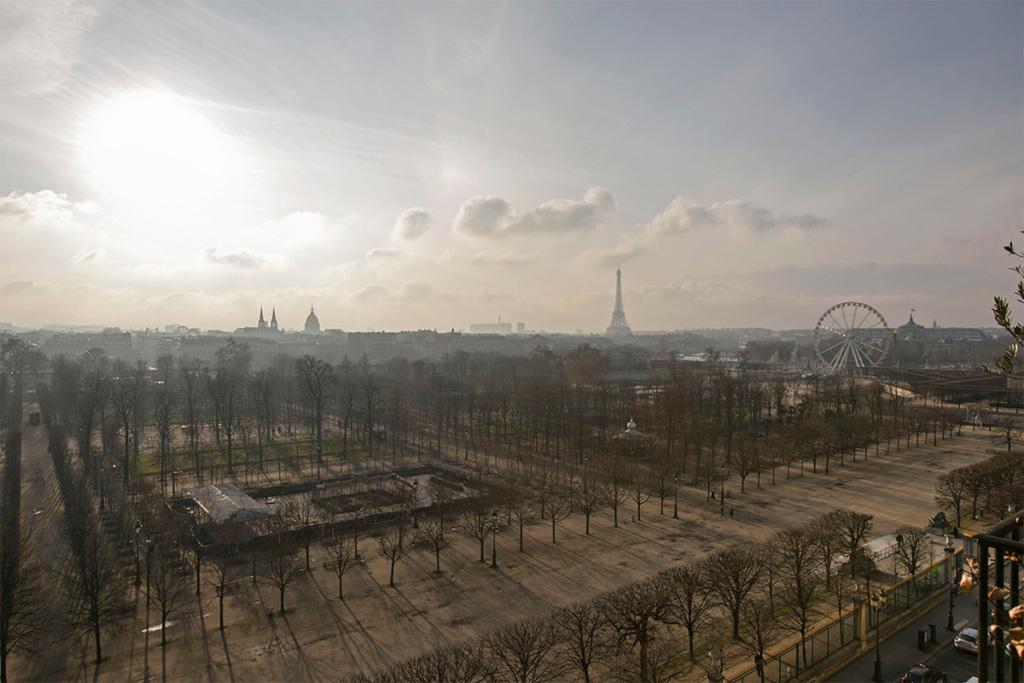 Terrasse proche du Louvre