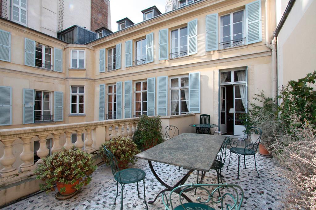 Les 9 plus belles terrasses d 39 appartements parisiens for Appartement paris terrasse jardin