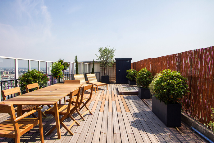 Les 9 plus belles terrasses d 39 appartements parisiens for Appartement paris 12 terrasse