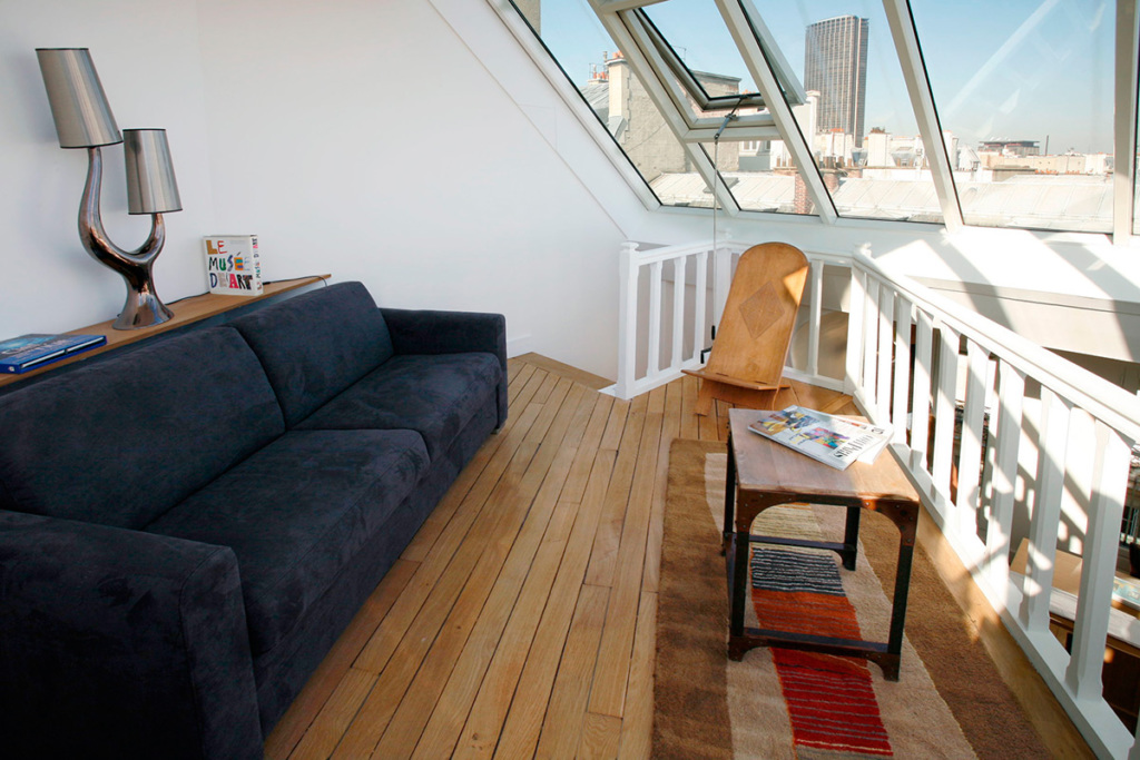 10 luxueux appartements avec vue sur paris photoreportage for Location appartement non meuble paris