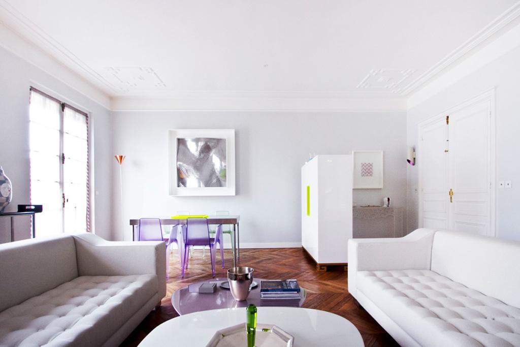 Living room Rue de la Paix Paris