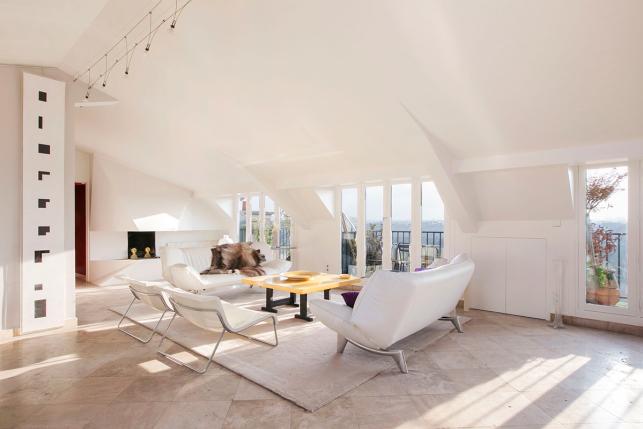 10 luxueux appartements avec vue sur paris photoreportage for Salon sur la rue