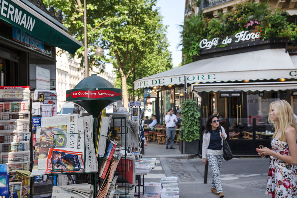 Café de Flore Paris Saint-Germain-des-Prés