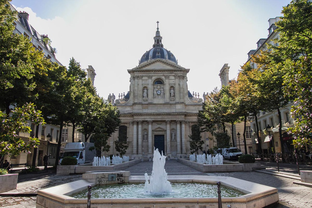 Place de la Sorbonne Paris
