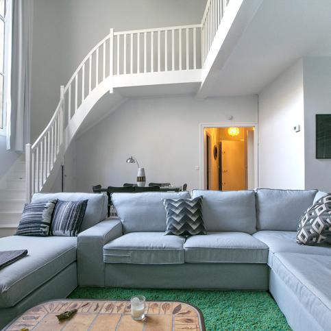 Les 9 plus beaux lofts et ateliers d artistes paris for Appartement meuble a paris