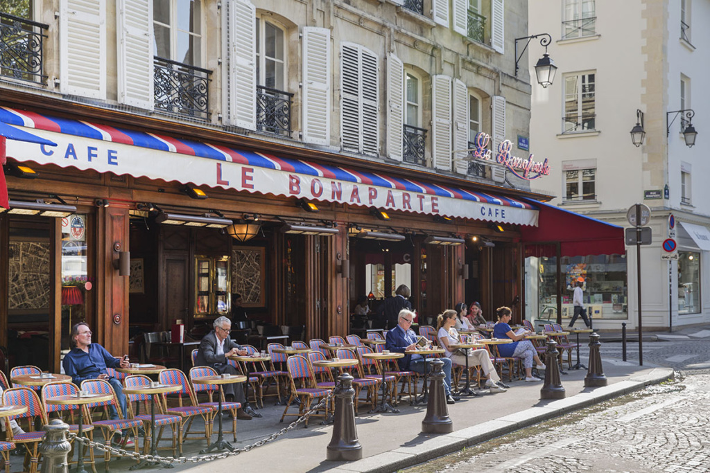 Café Bonaparte Terrace Saint-Germain-des-Près