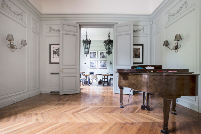 Maisons et h tels particuliers les plus belles demeures for Appartement meuble a paris