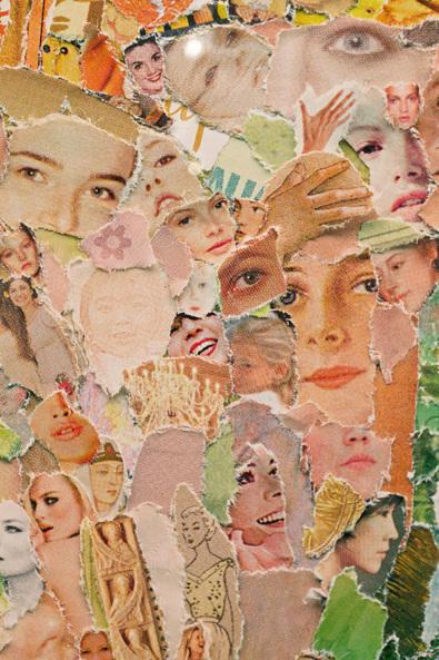 célèbre œuvre de collage