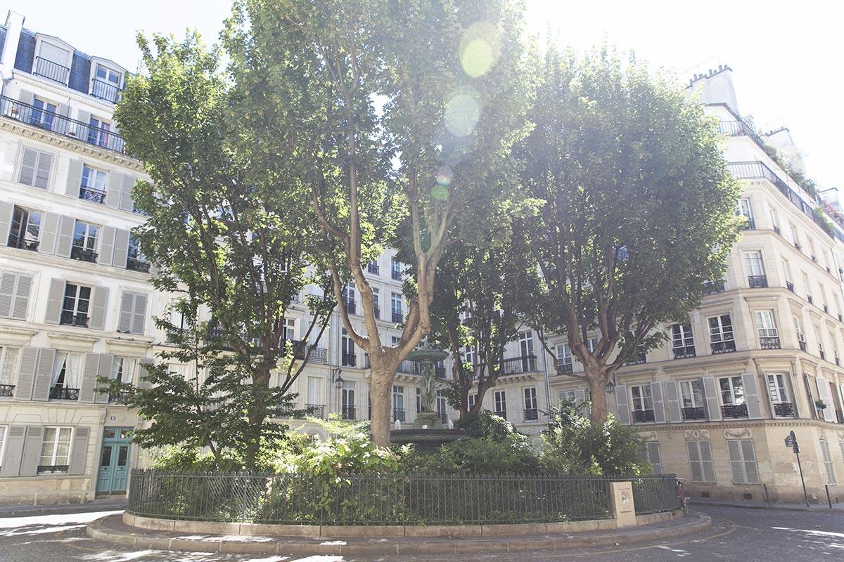 Cité de Trévise square Paris