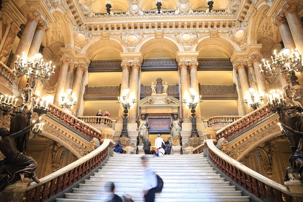 stairway opéra Granier art