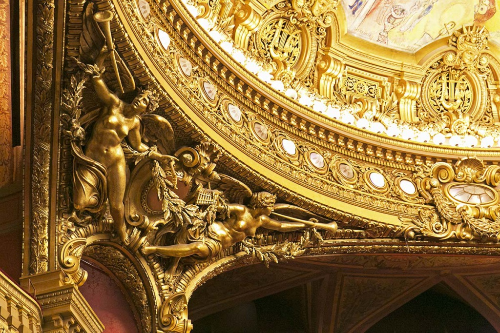 stage auditorium Garnier opera Paris
