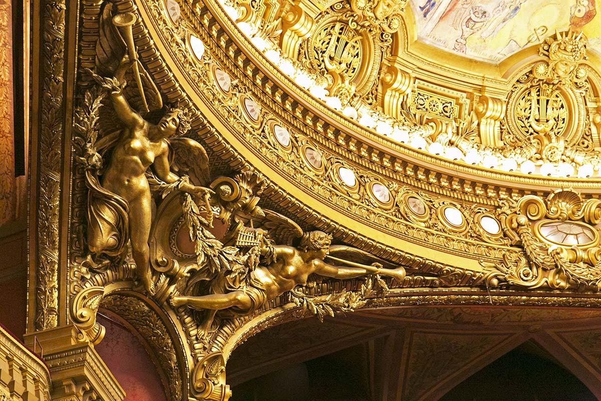 Spectacle architectural au palais garnier paris for Salon musique paris