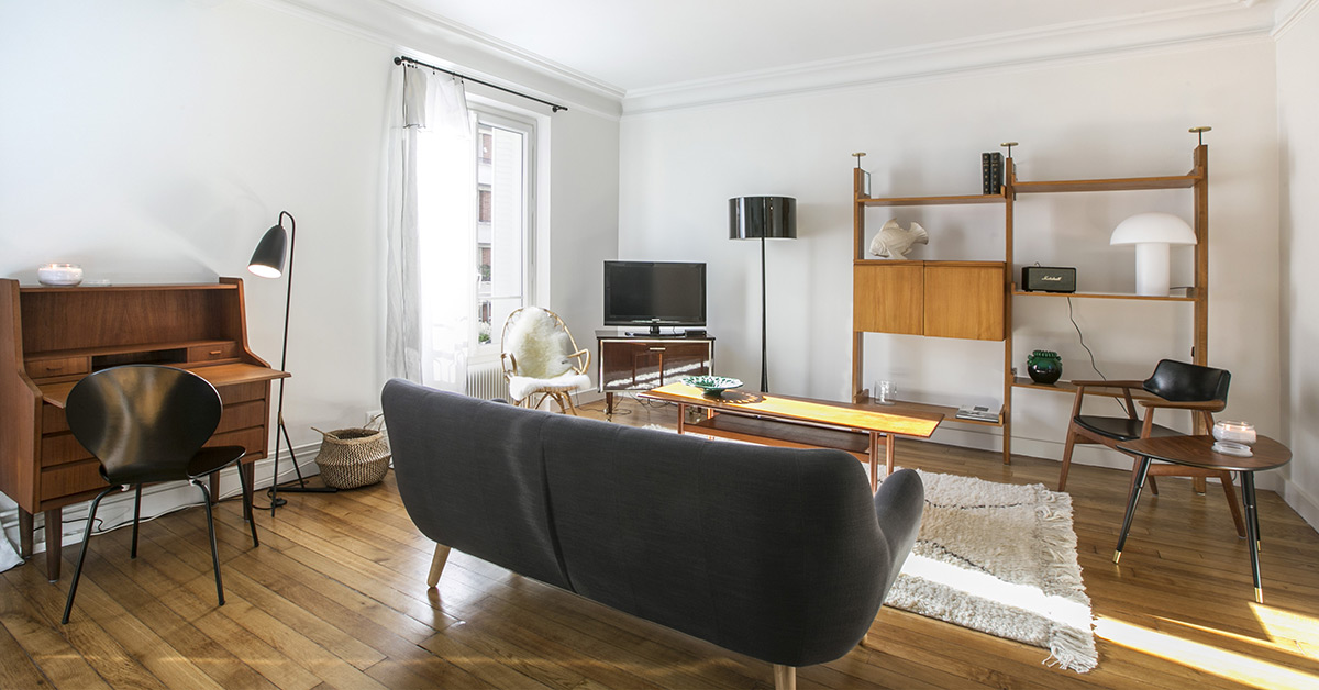 A parisian property owner and her favourite internet vintage finds - Deco appartement vintage ...