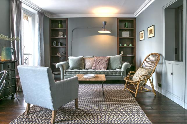 10 deux pi ces meubl s ultra fonctionnels paris for Salon petite surface