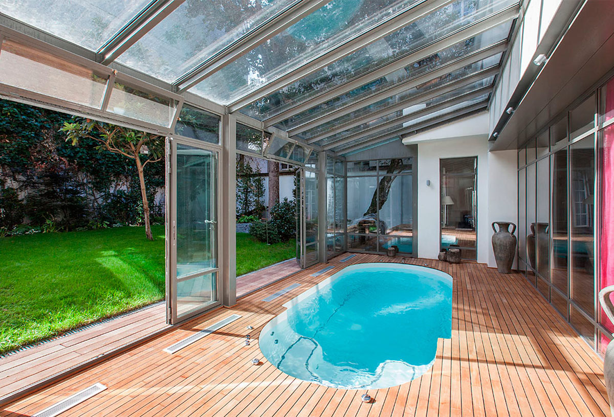 Paris life Mag 6 Parisian apartments with swimming pool