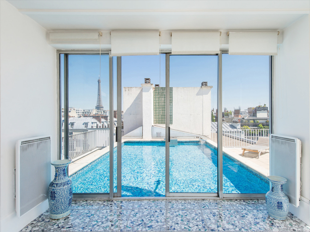 Piscine avec toit py09 jornalagora for Paris hotel avec piscine