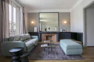 Appartement deux pi ces d 39 architecte une r alisation for Appartement meuble paris 16