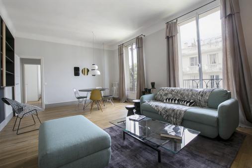 Appartement deux pi ces d 39 architecte une r alisation for Appartement meuble a louer paris 16