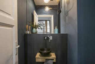 Idee deco wc chic. free idee deco toilette chic wc noir et blanc