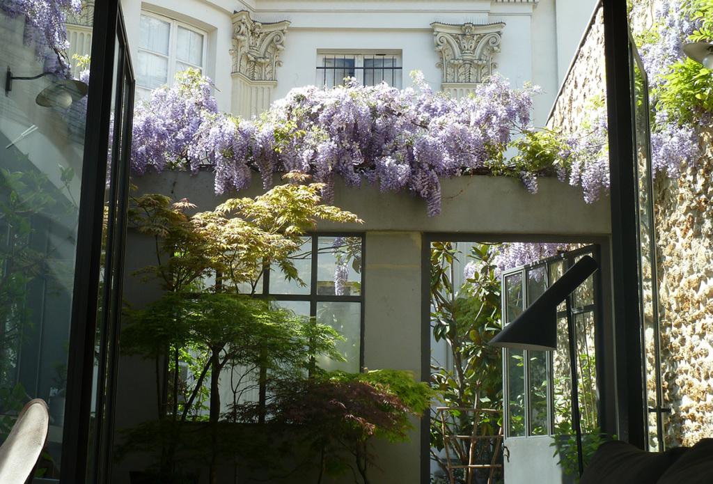 Paris life Mag 6 appartements parisiens avec jardin
