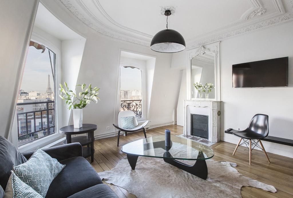 9 Attic apartments with a view of Paris - Photoessay Paris