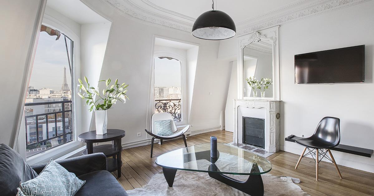 appartements meubl233s sous les toits parisiens au charme