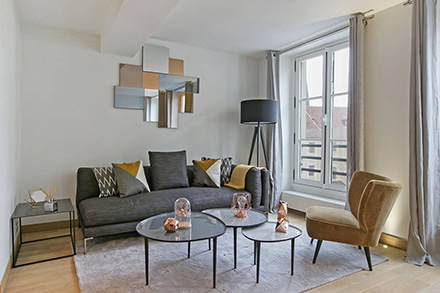 Students bussinessmen and furnished rentals in Paris