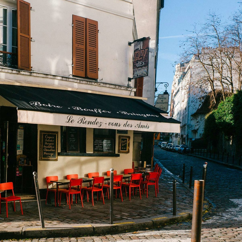 Montmartre bar 75018