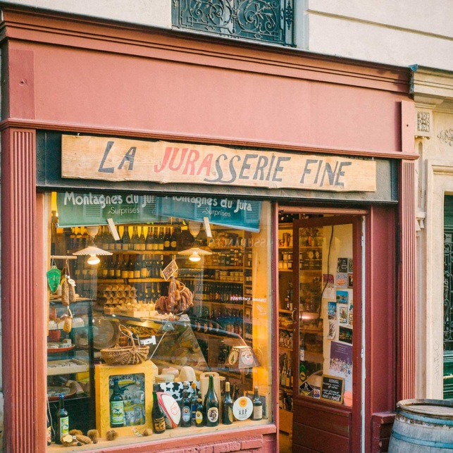 Montmartre cheese store Paris