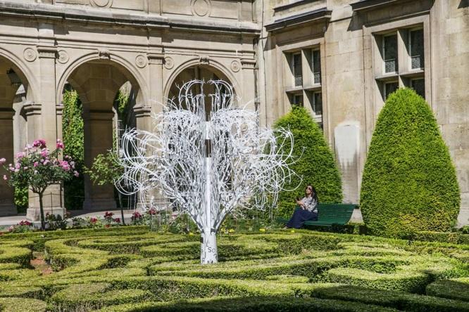 Carnavalet's garden