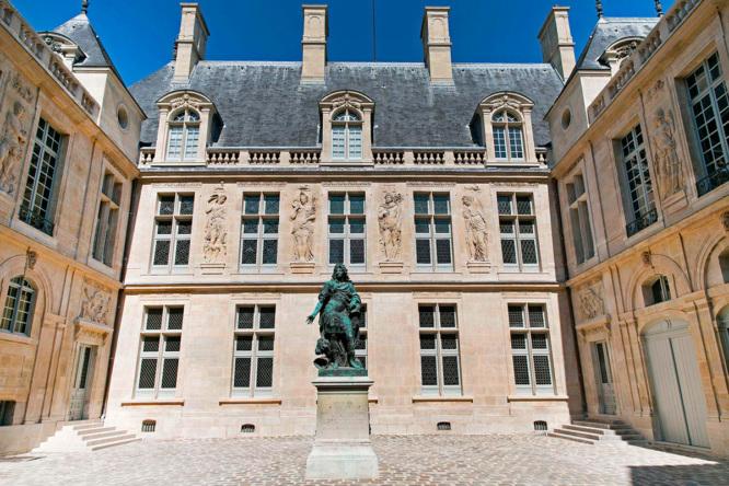 Musée Carnavalet Court yard