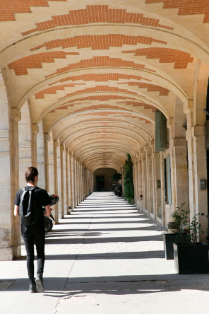 Arches of Place Des Vosges Paris
