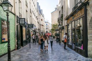 Rue des Rosiers, 4ème arrondissement Paris