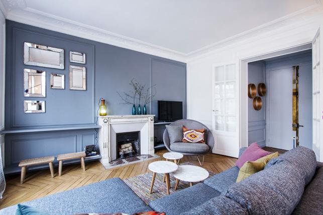 Salon appartement Quai de Jemmapes