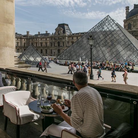 Café Marly Louvre