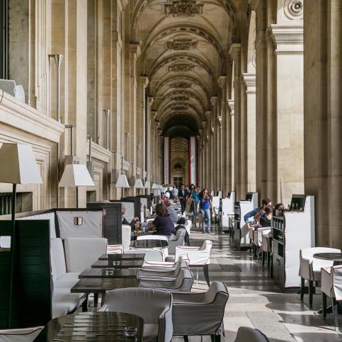 Café Marly Paris Rivoli's arcades