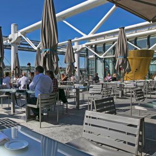 Terrace of the Pompidou Centre