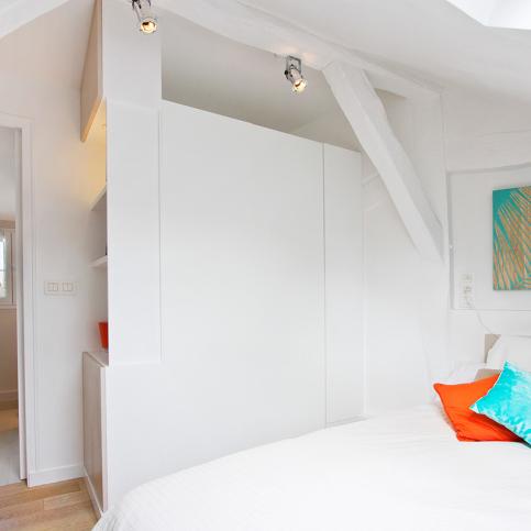 One bedroome - Rue des Fossés Saint-Jacques
