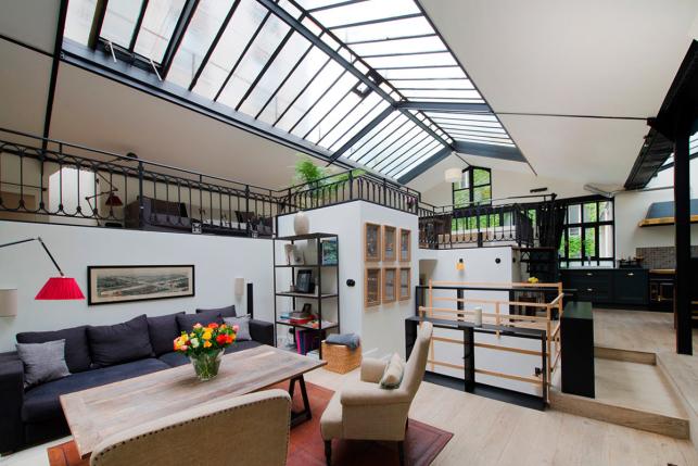apartment design im industriellen stil loft, the most beautiful artists' studios and lofts in paris - photo essay, Design ideen