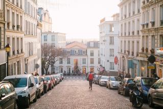 Montmartre Street Paris
