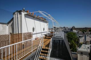 Saint-Germain-des-Près rooftop terrace