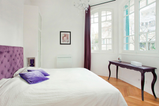 Furnished apartment Three-bedroom Avenue Junot Montmartre