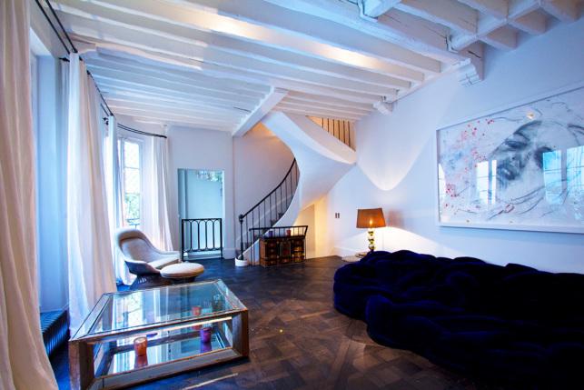 Furnished house Rue des Saints-Pères Paris