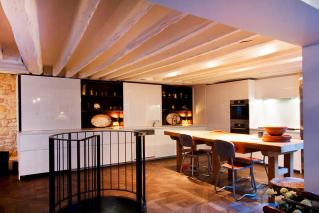 Kitchen furnished apartment Paris Saint-Germain-des-Près