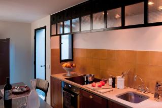 Kitchen house Rue Louis David Paris