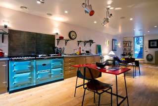 Equipped kitchen furnished rental Passy