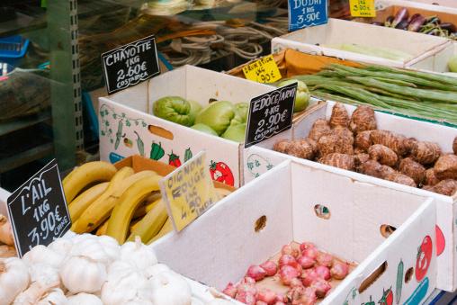 marché épiceries faubourg Saint-Denis Paris