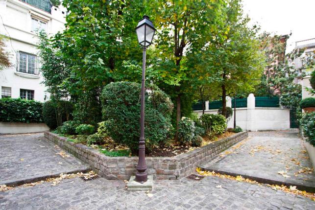Hameau des artistes Avenue Junot Paris