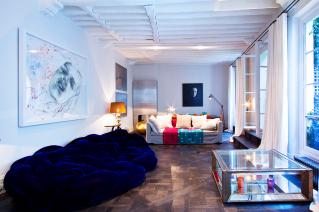 Rent apartment with garden Saint-Germain-des-Près