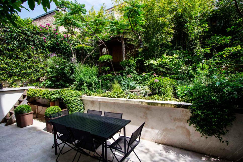 House garden Paris Hugues Peuvergne